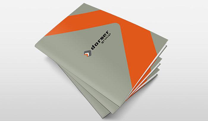 Dorser otomotiv katalog tasarımı