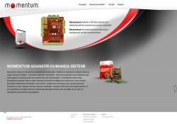 Momentum Elektronik Web Tasarım