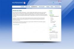 Hipokrat Laboratuvarlari Web Tasarım