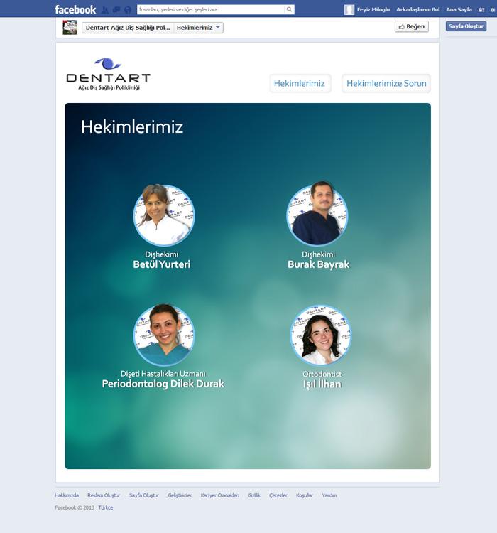 dentart-dis-facebook-app-sayfa-tasarimi