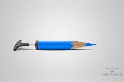 Faber-Castell'den Gerçek Renkler Reklam Çalışması