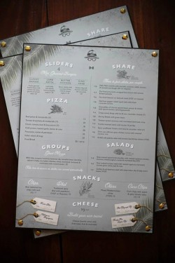 Restoran Menü Tasarımları