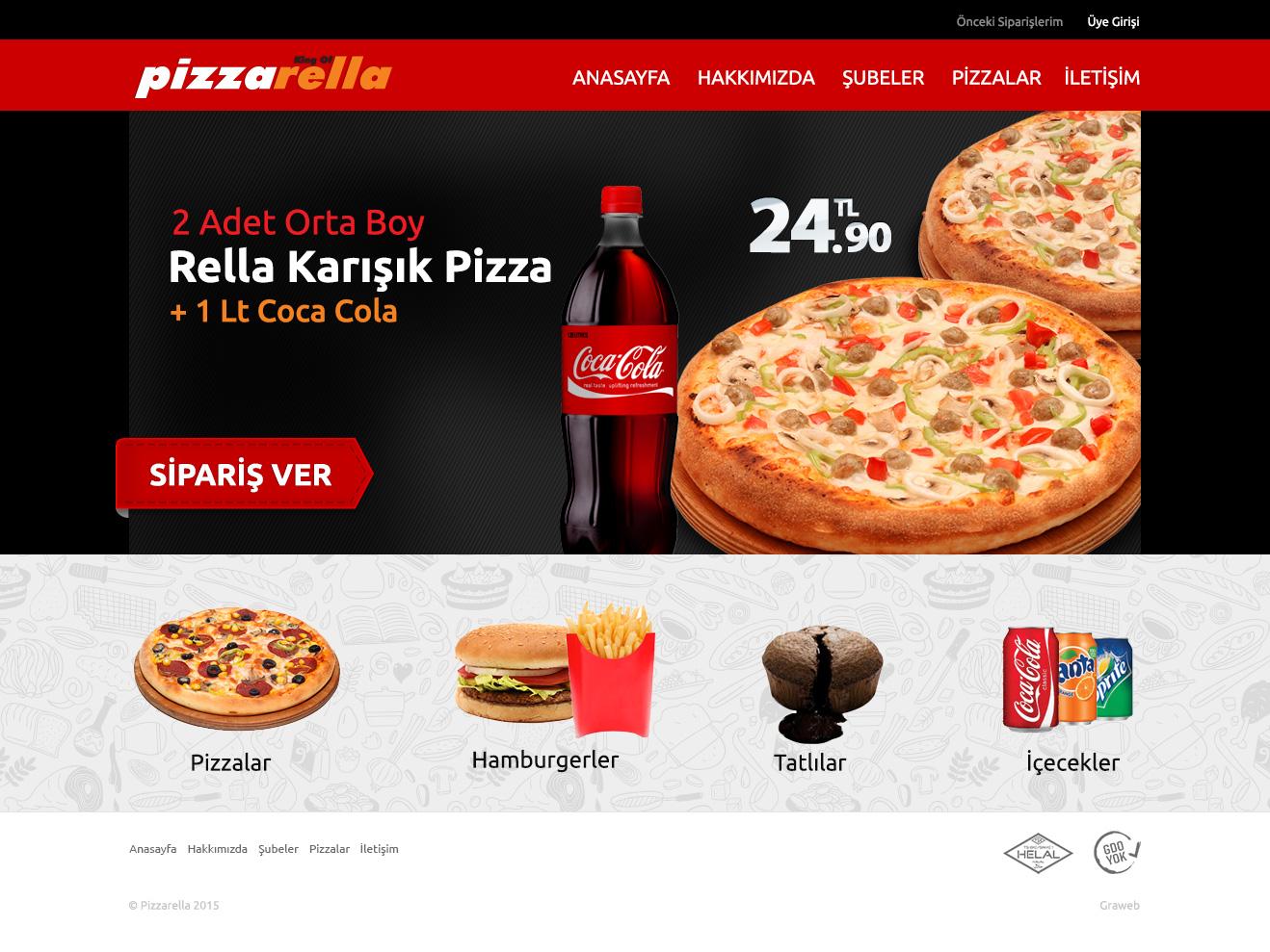 pizzarella-web-tasarim