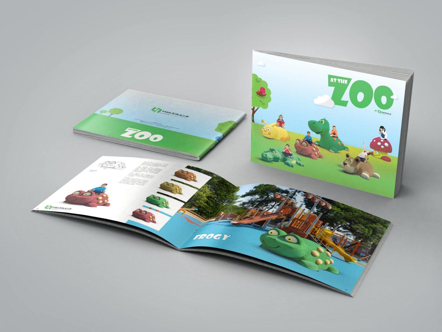 At The Zoo Katalog Tasarımı