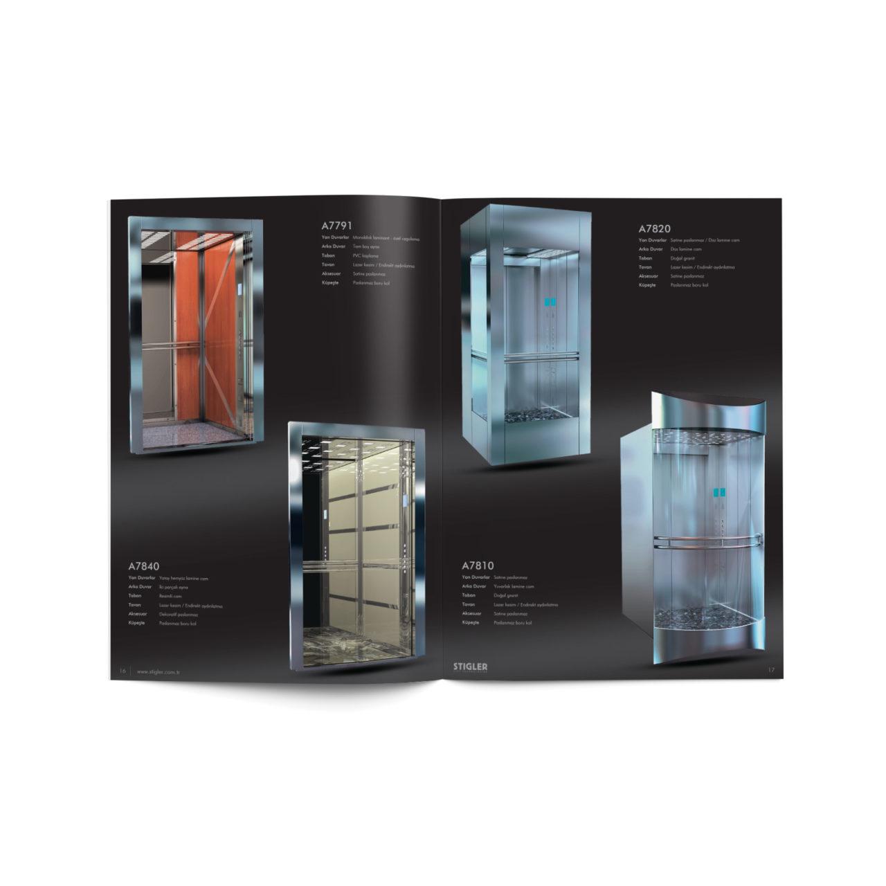 Stigler Katalog Tasarımı